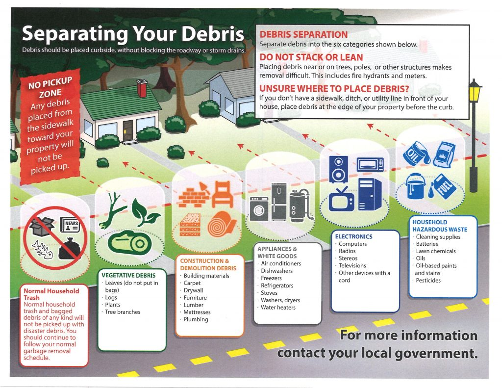 Separating your debris